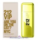 "carolina herrera 212 ""VIP FOR MeN Gold"" туалетная вода 100 мл"