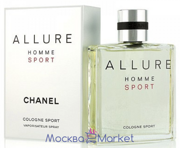 "CHANEL ""ALLURE HOMME COLOGNE SPORT"" парфюм 150 мл"