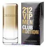 "carolina herrera 212 ""VIP CLUB EditioN"" туалетная вода 100 мл"
