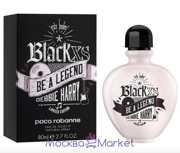 "Paco Rabanne ""Black XS Be a Legend Debbie Harry""  духи туалет 80 мл"